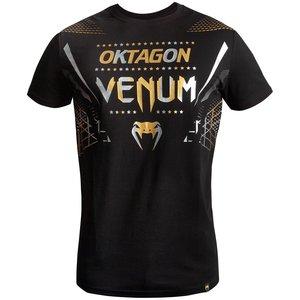 Venum Venum Oktagon T-shirt Zwart Goud Zilver