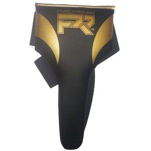 Punch Round™  Punch Round™ Kruisbeschermer Dames Meisjes Zwart Goud