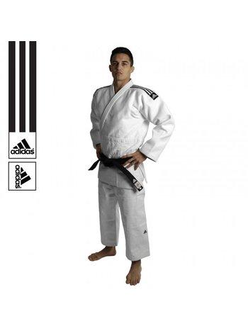 Adidas Adidas Judo Anzug Champion II IJF Approved Weiss