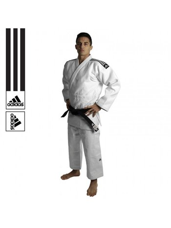 Adidas Adidas Judo suit Champion II IJF Approved White