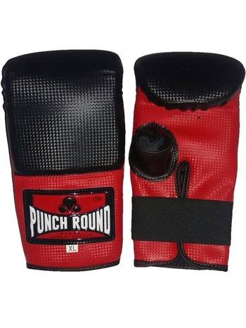 PunchR™  Punch Round Punching Bag Training Gloves Bag Gloves Carbon.