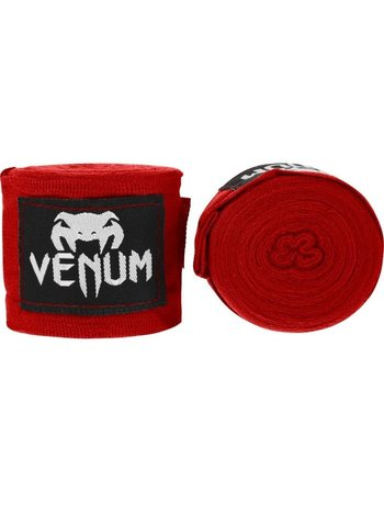 Venum Venum Bandage 400 cm Bandagen Windels Hand Wraps Rot