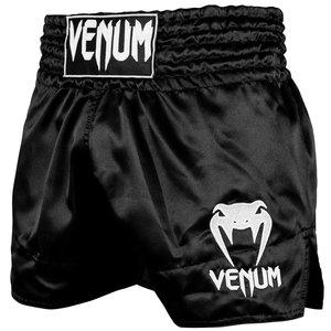 Venum Venum Classic Muay Thai Kickboxing Shorts Black White