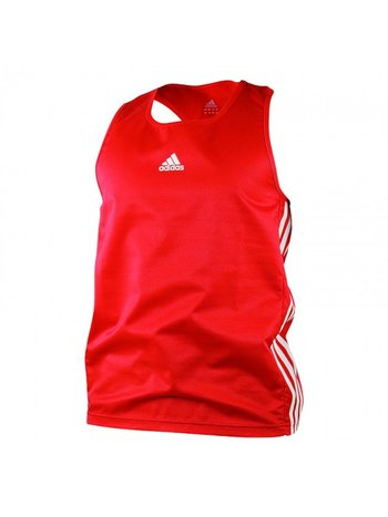 Adidas Adidas Amateur Boxing Tank Top Lightweight Rood Wit