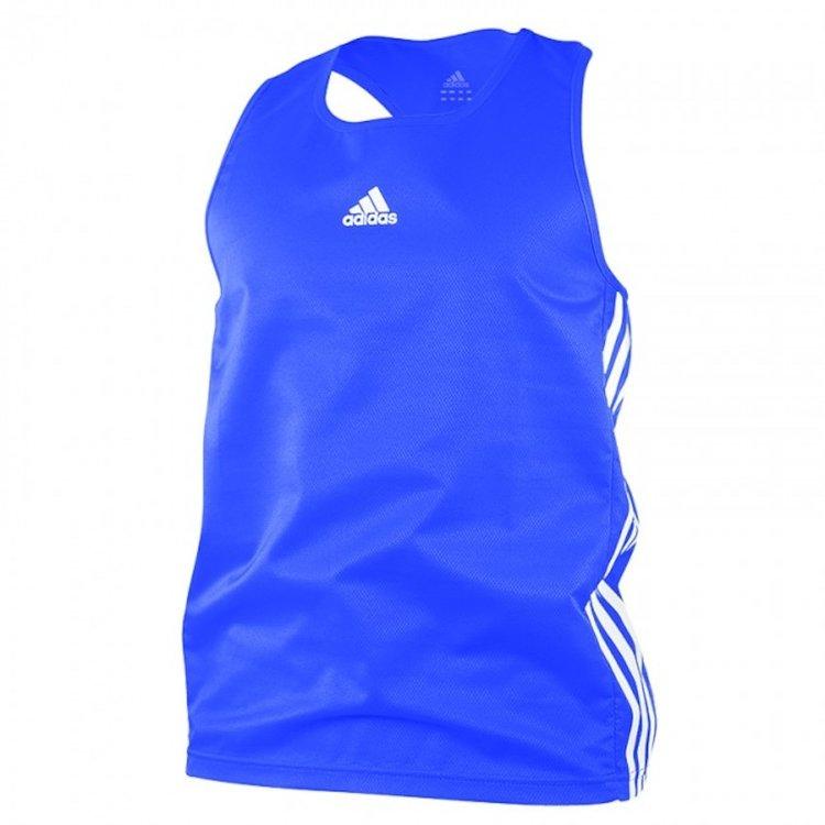 Adidas Adidas Amateur Boxing Tank Top Lightweight Blauw Wit