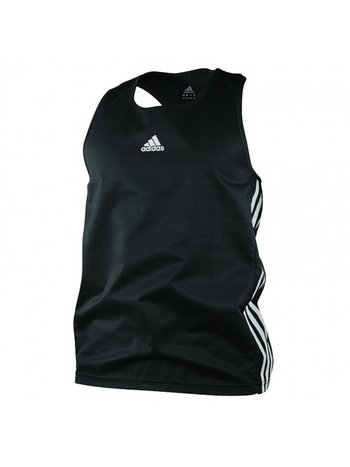 Adidas Adidas Amateur Boxing Tank Top Lightweight Zwart Wit