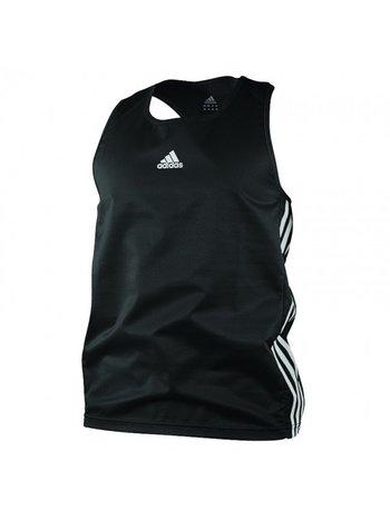 Adidas Adidas Amateur Boxing Tank Top Schwarz Weiß