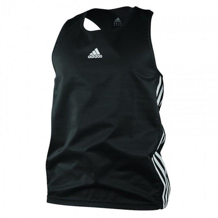 Adidas Adidas Amateur Boxing Tank Top Lightweight Zwart Wit