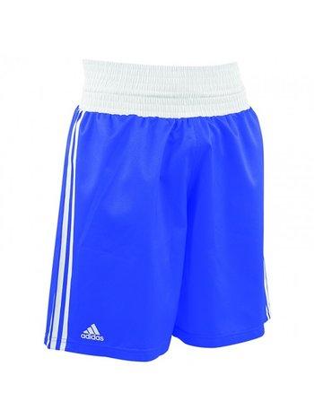 Adidas Adidas Amateur Boxen Kampfsport Hose Blau Weiß