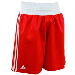 Adidas Adidas Amateur Boxen Kampfsport Hose Rot Weiß