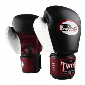 Twins Special Twins Kickboxing Gloves BGVL 4 Black Red White