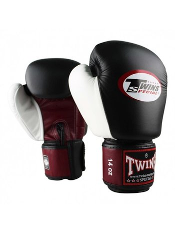 Twins Special Twins KickboxingGloves BGVL 4Black Red White