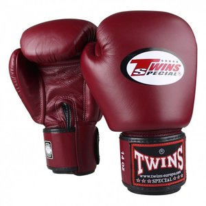 Twins Special Twins BGVL 3 Boxing Gloves Wine Red Kickboxing Gloves