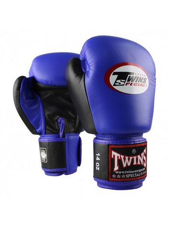 Twins Special Twins BGVL 3 Boxing Gloves Blue Black Twins Special Fight Gear