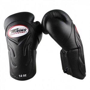 Twins Special Twins Special BGVL 6 Boxing Gloves BGVL-6 Black Kickboxing