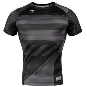 Venum Venum Amrap Rash Guard S/S Zwart Grijs Compressie Shirts Venum