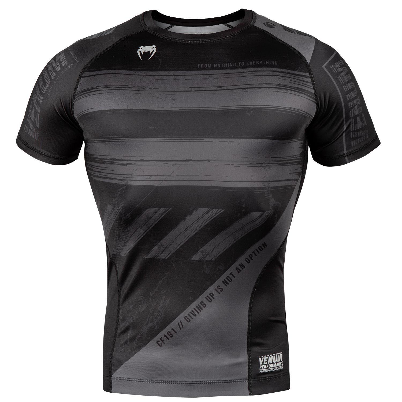 Venum AMRAP Training Shorts Black Grey MMA No-Gi Grappling Gym Fitness Shorts