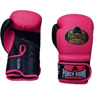 Punch Round™  Punch Round Boxing Gloves Combat Sport Pink Gold