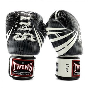 Twins Special Twins Fantasy 1 Boxhandschuhe Schwarz Weiss