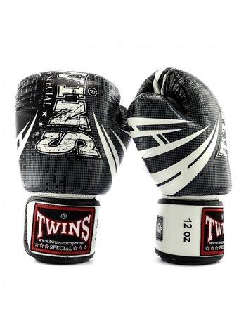 Twins Special Twins Fantasy 1 Bokshandschoenen Zwart Wit