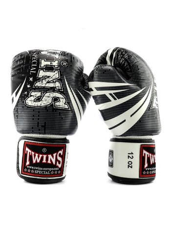 Twins Special Twins Fantasy 1 Boxing Gloves Black White