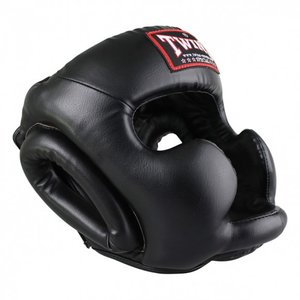 Twins Special Twins Head Protection Kopfschutz HGL 3 Black Martial Arts Protection