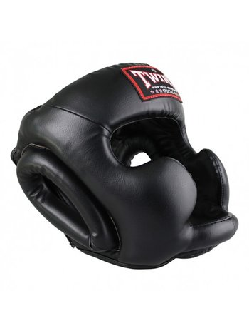 Twins Special Twins Head Protection Kopfschutz HGL 3 Black Martial Arts Protection