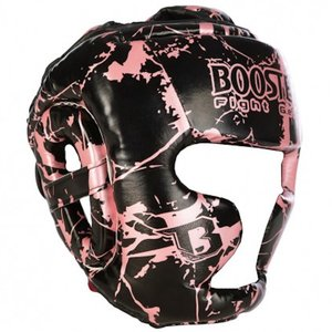 Booster Booster Youth Head Protection Headgear Marble Pink