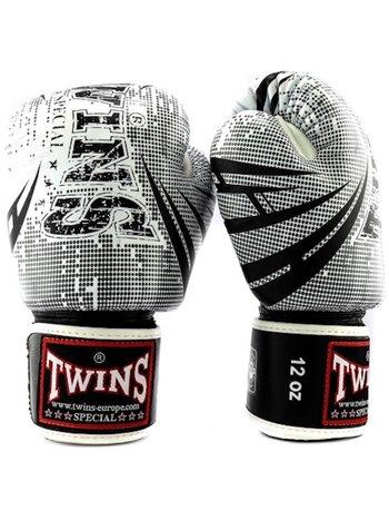 Twins Special Twins Fantasy 2 Boxhandschuhe Weiss Schwarz