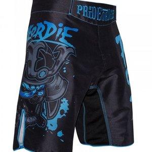 Pride or Die PRiDE oder DiE Fight Short Ronin Schwarz Blau