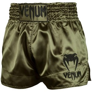 Venum Venum Kickboks Broekjes Classic Muay Thai Shorts Khaki