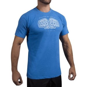 Hayabusa Hayabusa Weapons of Choice T-shirt Blau Martial Arts Kleidung