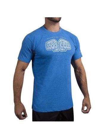 Hayabusa Hayabusa Wapens of Choice T-shirt Blauw Vechtsport Kleding