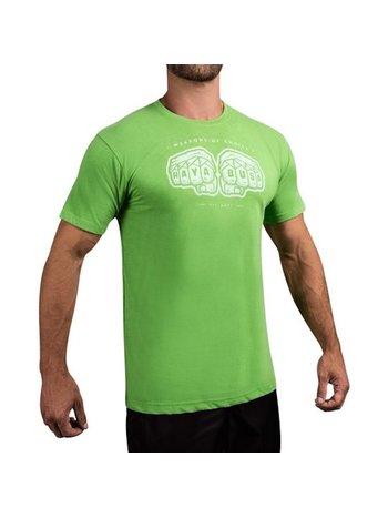 Hayabusa Hayabusa Wapens of Choice T-shirt Groen Vechtsport Shop
