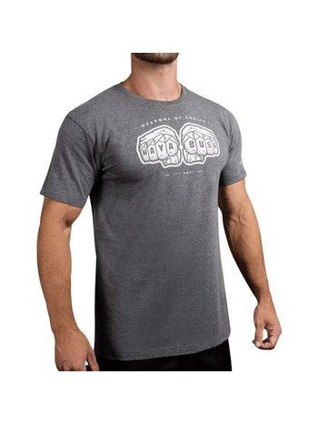 Hayabusa Hayabusa Weapens of Choice T-shirt Grijs Vechtsport Winkel Nederland