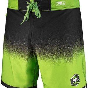 Bad Boy Bad Boy HI-TIDE Hybrid Zwem- Training Shorts Zwart Groen