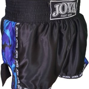 Joya Fight Wear Joya Muay Thai Kickboks Broekjes Camo Blue