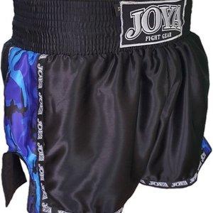 Joya Fight Wear Joya Muay Thai KickboxingShorts Camo Blue by JoyaFightwear