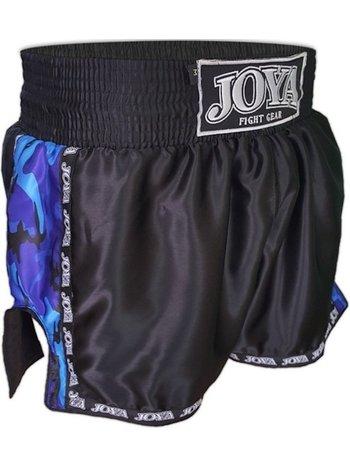 Joya Fight Wear Joya Kickboxing Shorts Camo Blau - Muay ThaiShorts