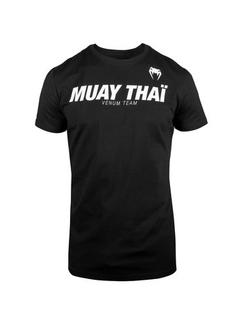 Venum Venum MUAY THAIVT T Shirt Zwart Wit Kickboks Kleding