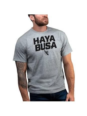 Hayabusa Hayabusa Casual logo T-shirt Grijs