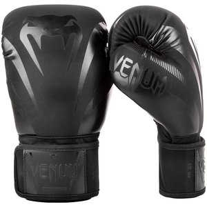 Venum Venum Impact Kickboxing Boxhandschuhe Schwarz Schwarz