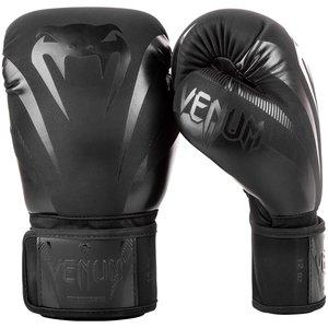Venum Venum Impact Kickboxing Boxing Gloves Black Black