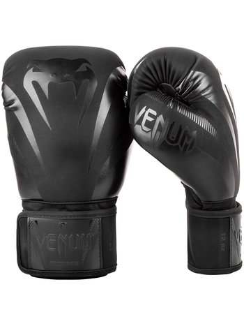 Venum Venum Impact Kickboxing Bokshandschoenen Zwart Zwart