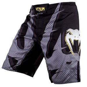 Venum Venum Interference MMA Fight Shorts Schwarz Grau