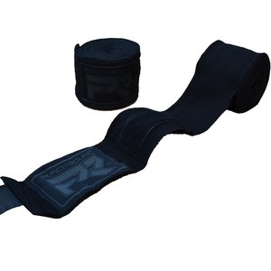 Punch Round™  Punch Round Perfect Stretch Hand Wraps Black Grau Nylon