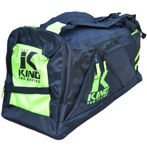 King Pro Boxing King KPB Sports Bag Heavy Duty Gym Bag Black Yellow