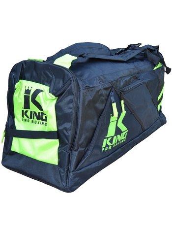 King Pro Boxing King KPB Sports Bag Heavy Duty Gym Bag Black Yellow