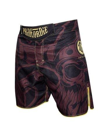 Pride or Die PRIDE of DIE MMA Fight Shorts Brotherhood