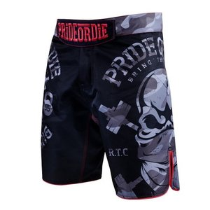 Pride or Die PRIDE or DIE MMA Fightshorts RAW TRAINING CAMP Urban